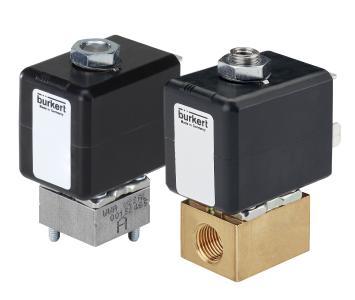 Zuverlässig und temperaturbeständig: Die neuen kompakten 2/2- und 3/2-Wegeventile bieten eine große Zahl individueller Auswahlmöglichkeiten. (Quelle: Bürkert Fluid Control Systems)