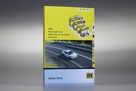 Der neue LuK Katalog für PKW – 420 Seiten stark, 2.000 Produkte, 7.715 Fahrzeugverknüpfungen