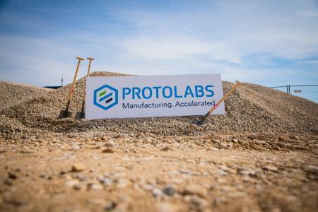 Spatenstich neues Produktionsgebäude Protolabs  Photo: Protolabs Germany GmbH