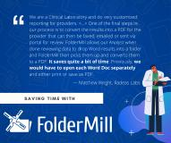 Auto printing and conversion of PDFs and Images are More Effective with FolderMill 4.8