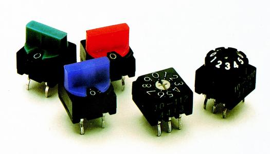 ERG Rotary Coded Switches Offer High Reliability Combined with Intuitive Design Possibilities