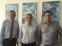 v. l. n. r.: Michael Wagemann, Wolfgang Zwack, Martin Hahn