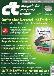 Titelblatt c't 14/21