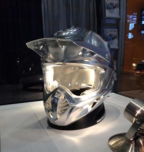 Motorcross helmet: hyperMILL® 5axis machining in top quality, Image source: OPEN MIND
