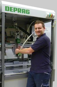 Systems engineer Markus Solfrank