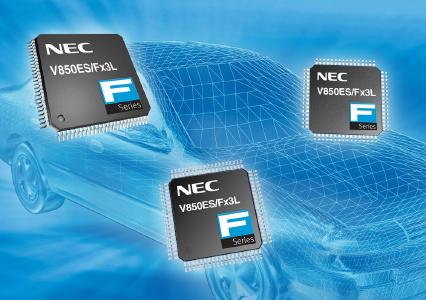Gleichmann Electronics presents 13 additional 32-bit automotive MCUs from NEC Electronics