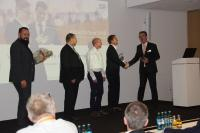 Auszeichnung auf der ELO ECM-Tour in Wiesbaden
