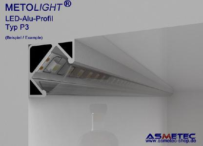Metolight LED-Alu-Profil - Anwendungsbeispiel
