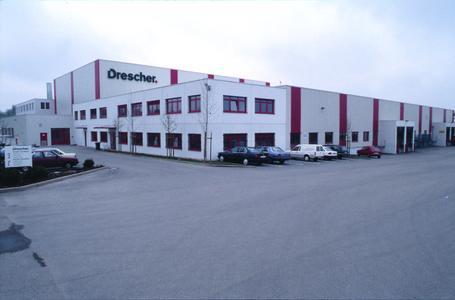 Firmengelände der Drescher Full-Service Versand GmbH in Offenburg- Elgersweier