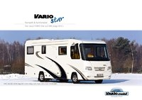 Neuvorstellung Reisemobil VARIO Star 800 auf MB Atego 822