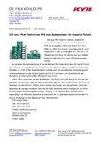 [PDF] Pressemitteilung: 330 neue Pkw-Federn von KYB zum Auswechseln für besseres Fahren