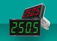 In roter und grüner LED-Farbe erhältlich, kann die Prozessanzeige von akYtec nun bei Unter- oder Überschreiten eines vorab eingestellten Grenzwertes auch blinken