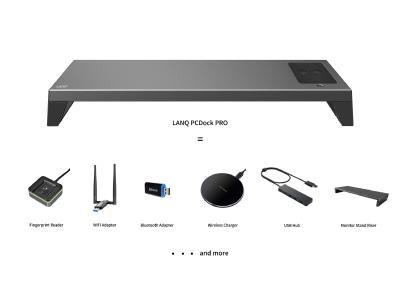 8-in-1 Monitorständer mit zahlreichen Funktionen