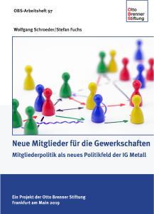 Cover OBS-Arbeitspapier 97: Neue Mitglieder für die Gewerkschaften