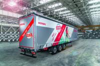 The new Kögel Lightplus Coil: a Plus in Payload for Coil Transport