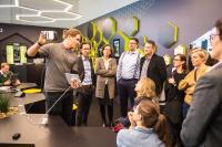 Im FUTURESHOP wurden die Möglichkeiten der Digitalisierung für augenoptische Fachgeschäfte vorgestellt und erklärt, Bildnachweis: GHM / Thomas Plettenberg