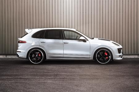 TECHART Power Boost for the Porsche Cayenne Turbo