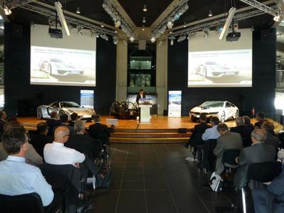 Im vergangenen Jahr war Porsche in Leipzig der Veranstaltungsort des CCeV Automotiveforums. 2015 ist die hochkarätig besetzte Strategieveranstaltung für den Leichtbau in Böblingen zu Gast  Bild: CCeV