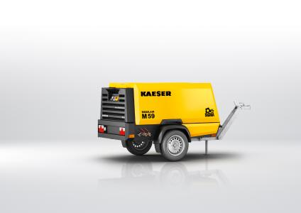 M59 in Leichtbau-Ausführung: Der nagelneue Hatz-Dieselmotor aus der M59 passt perfekt zu diesem Made-in-Germany-Konzept