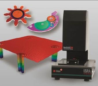 Verschiedenste Bauteile lassen sich mit NetGAGE3D schnell und effizient auf ihre Qualität überprüfen