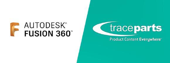 Fusion 360 and TraceParts
