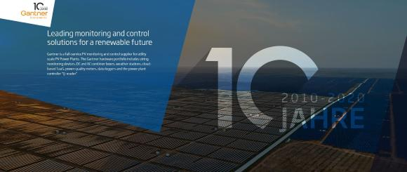 10 Jahre Gantner Instruments Environment Solutions GmbH