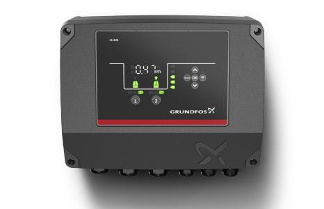 Grundfos Niveausteuerung für den sicheren Betrieb beim Befüllen und Entleeren in Behälteranwendungen