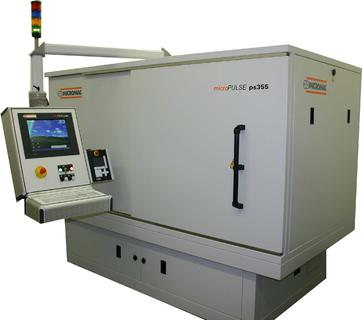 Laser Micro Machining Equipment with 5-Axles Positioning System
