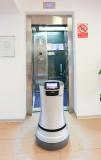 thyssenkrupp Elevator Robot at offices