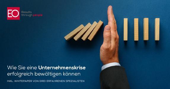 Wie Sie eine Unternehmenskrise erfolgreich bewältigen können