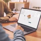 Desktop Ansicht einer PV-Planungsstrecke