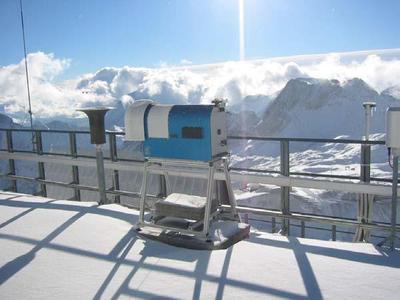 Ein HATPRO-Gerät auf der Zugspitze. ©RPG GmbH
