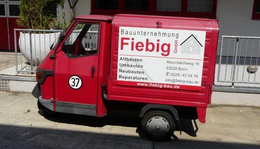 Nicht das größte Fahrzeug der Firma Fiebig