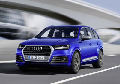 Audi SQ7 TDI: die Innovationsoffensive