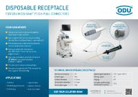 [PDF] Press Release: New Disposable receptacle part for ODU MEDI-SNAP® Push-Pull connectors