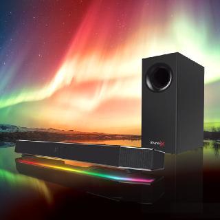 Exklusiv bei Caseking: Die Sound BlasterX Katana Soundbar nur für kurze Zeit mit GRATIS-Beigaben für Vorbesteller