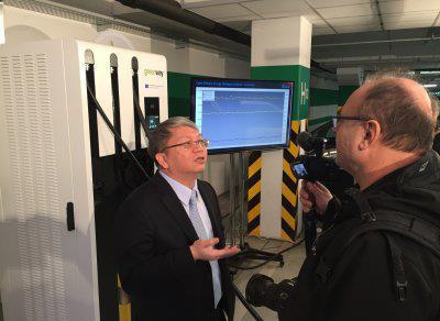 In Bratislava kommen Deltas Schnelllade- und Batteriespeicherlösungen in Greenways Ladestationen für Elektrofahrzeuge zum Einsatz