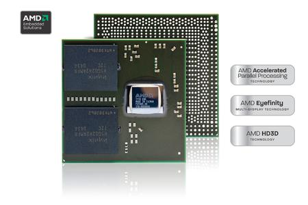 AMD Radeon E6460 GPU brings the latest desktop graphics performance and features to the casino gaming, digital signage, instrumentation and industrial controls markets