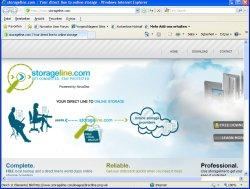 Storageline.com will allow the download of a free backup software and support end users with handy search functions for selecting storage providers.