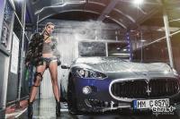 Christ macht's wieder - Aus purer Lust und Freude am Autowaschen! Endlich, Christ Top-Models waschen wieder mit Hochdruck im neuen HOT CAR WASH Kalender 2019