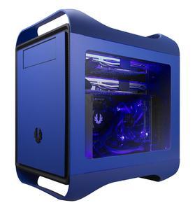 BitFenix Prodigy M Window Seitenteil - blau