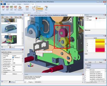 3DViewStation V11.3 filter BOM Markup change request