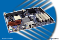 Kontron KT780/ATX motherboard with AMD Quad Core processor performance and high-end graphics features