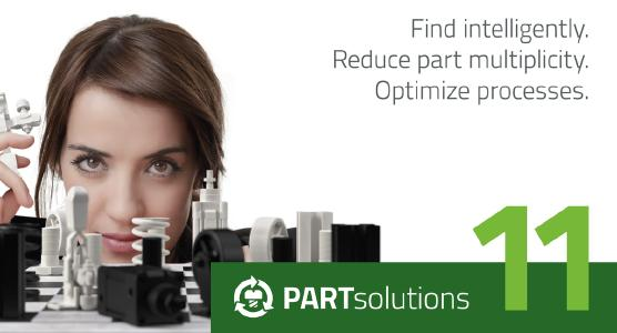 CADENAS publishes Version 11 of the Strategic Parts Management PARTsolutions with advanced search functions and an optimized user interface
