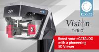 Vision Engineering & CADENAS enable the display of digital components with revolutionary 3D display technology