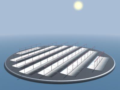 Solarenergie-Inseln