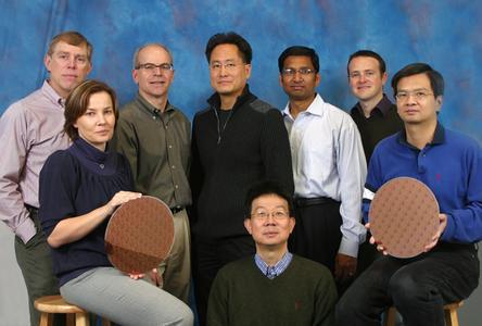 In the photo from right to left:Craig Lage, An Steegen, John Pellerin,Ja-Hum Ku, John Sudijono, Mukesh Khare, Richard Lindsay, Effendi Leobandung,