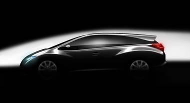 Neues Mitglied der Honda Modellfamilie: der Civic Kombi