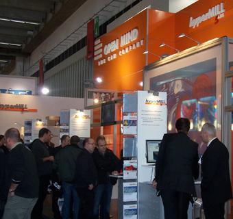 Großes Besucherinteresse am OPEN MIND Stand auf der EuroMold.