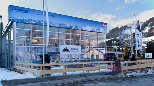 Der TirolBerg: Im Losberger Palas treffen sich die Vertreter aus Sport, Wirtschaft und Gesellschaft.